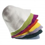 Set of Wool Felt Hoods 8pcs. - Light Colors