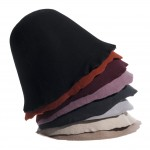 Set of Wool Felt Hoods 8pcs. - Dark Colors