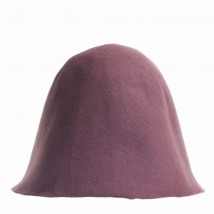 Wool Felt Hood - Dirty Pink
