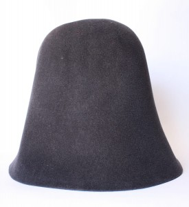 Velour Hood - Dark Grey