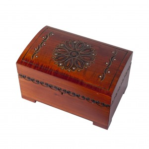 Wooden handmade jewelry box