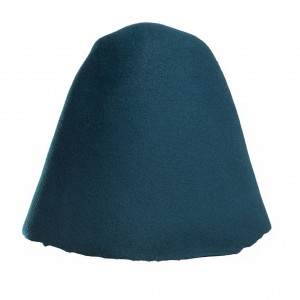 Wool Felt Hood - Blue Sea