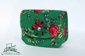 Folk shoulder bag - small - Green