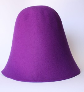 Velour Hood - Purple