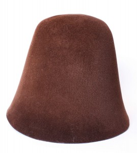 Velour Hood - Brown