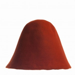 Wool Felt Hood - Ginger