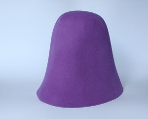 Velour Hood - Light Purple