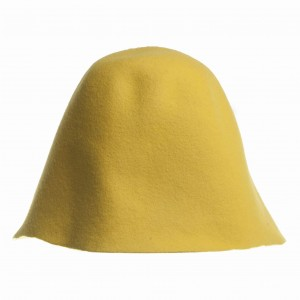 Wool Felt Hood - Yellow